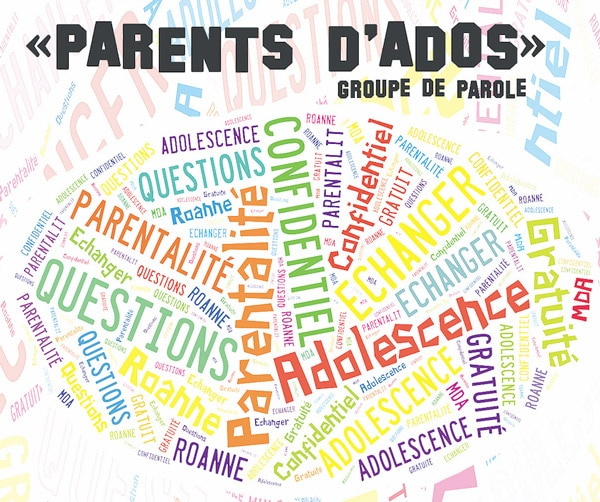 Groupe de paroles «Parents d'Ados»