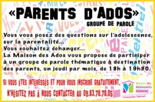 Groupe Parents d'ados